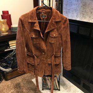 Womens leather Bebe Jacket